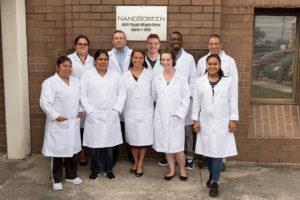 NanoScreen Lab Team Photo, May 2018